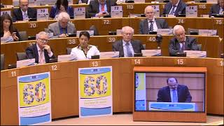 Luca Jahier, 60th anniversary of the EESC EN
