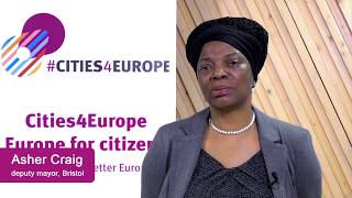Cities4Europe: Interview with Bristol City Council deputy mayor Councillor Asher Craig