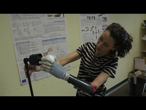 A helping hand: EU researchers develop bionic hand that imitates life