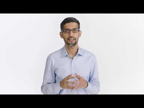 Video message from Sundar Pichai, CEO, Google