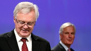 'No great step forward' in Brexit talks, says Barnier