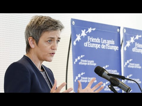 A conversation with Margrethe Vestager on Shaping Europe's digital future