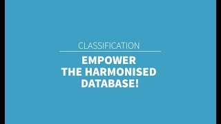 TMClass - Empower the harmonised database