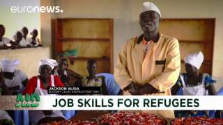 Aid Zone: Training for refugees in Uganda, a model of integration