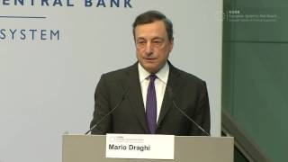 ESRB Conference Welcome address: Mario Draghi, Chair of the ESRB