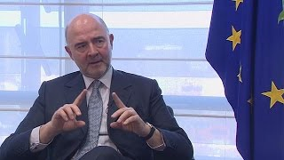 Eurozone needs its own finance minister: EU's Moscovici