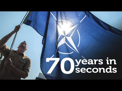 NATO: 70 years in 70 seconds