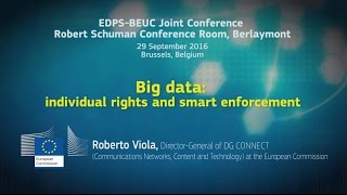 EDPS - BEUC Joint Conference, Speech of Roberto Viola, Director General DG CONNECT, EC