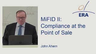 MiFID II: Compliance at the Point of Sale