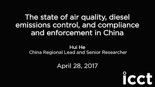 [Interview] Transport-related emissions and compliance and enforcement in China