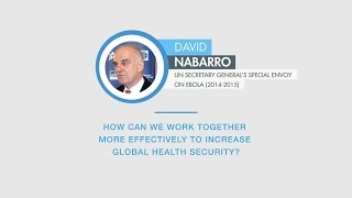 David Nabarro comments on global health security