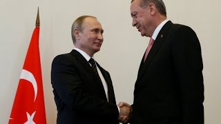 LIVE: Putin & Erdogan joint press conference in St. Petersburg