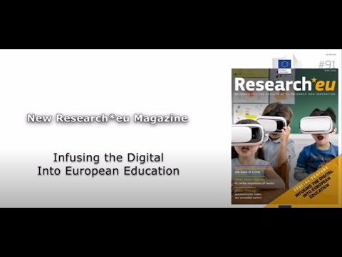 Research*eu issue 91: Infusing the digital into European education