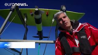 An underwater kite built to harness tidal energy - Futuris