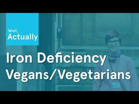Iron deficiency in Vegans & Vegetarians? | Well, Actually | Ep.1