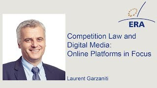 Competition Law and Digital Media: Online Platforms in Focus