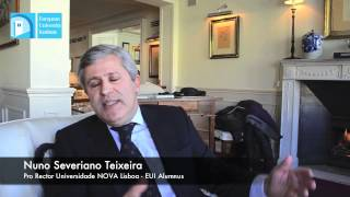 """Why choose EUI"" a testimonial by Nuno Severiano Teixeira"