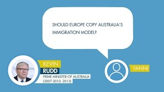 Kevin Rudd responds to a question from Mike on Brexit