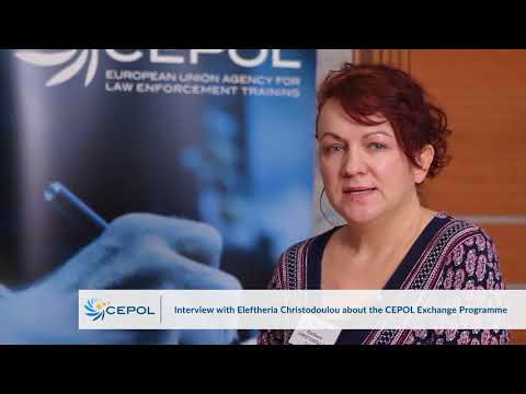 Interview with Eleftheria Christodoulou - CEPOL Exchange Programme