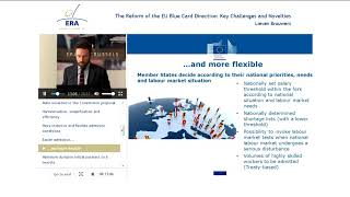 The reform of the EU Blue Card Directive