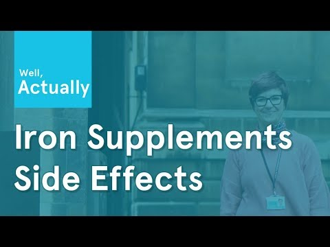 Side Effects of Iron Supplements | Well, Actually | Ep.1