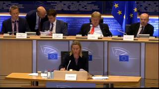 Hearing of HRVP Federica Mogherini before the EP