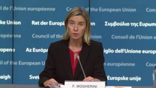 EU Iraq Cooperation Council press statements
