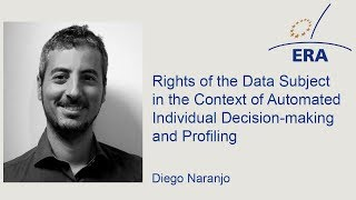 Rights of the Data Subject in the Context of Automated Individual Decision-making and Profiling