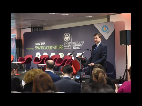 EC Vice President Dombrovskis keynote speech at EBF UNEP FI Responsible Banking Principles Workshop