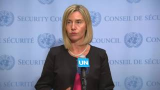 Federica Mogherini on Iran Nuclear deal