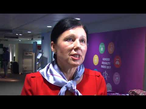 Věra Jourová on the Gender Equality Index
